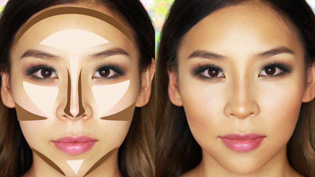 Rina Young  nos explica en su canal YouTube como realizar un make up contouring