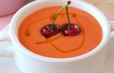 gazpacho cerezas 1