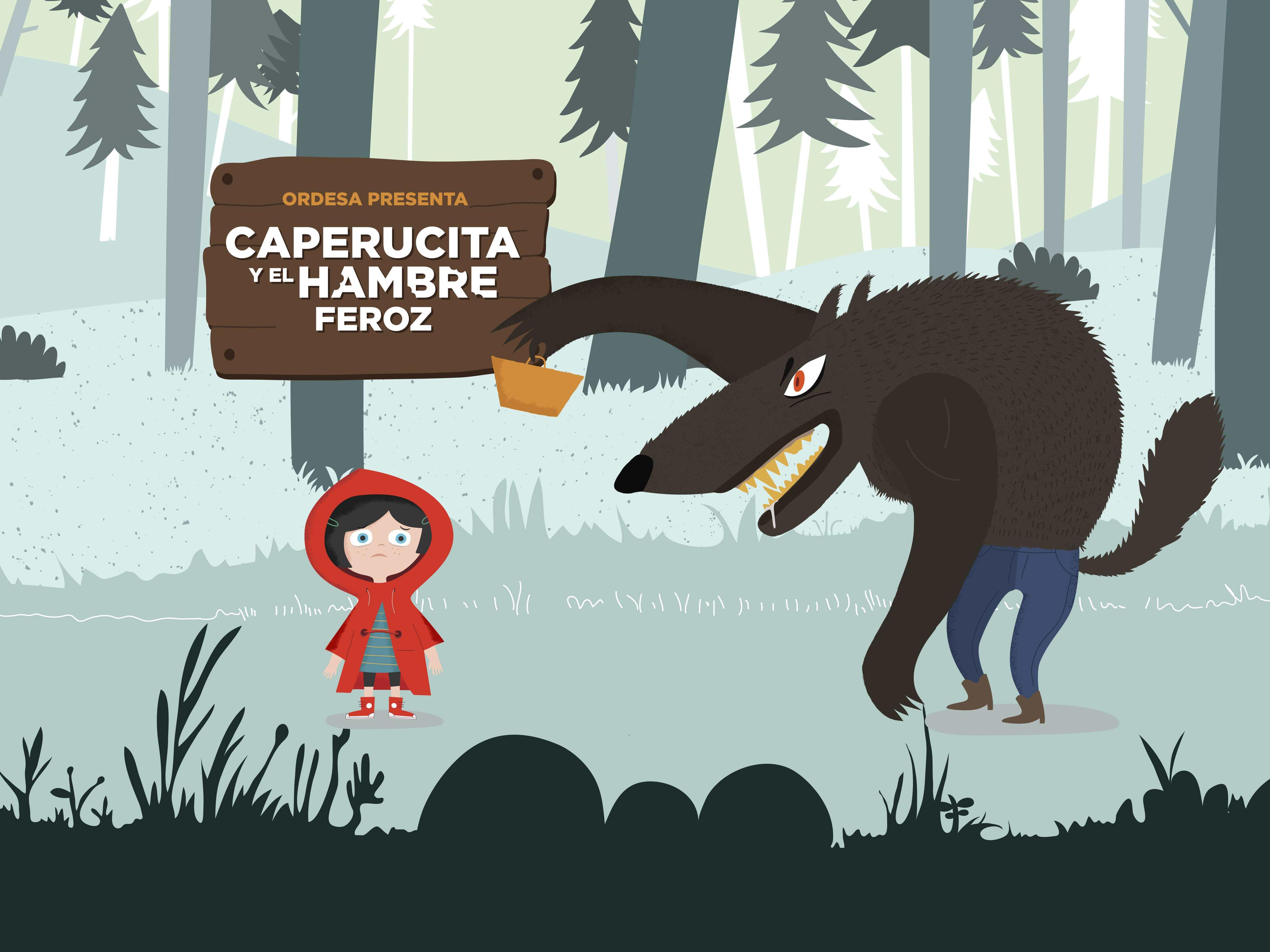 Foto Caperucita y Hambre Feroz