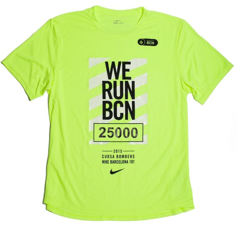 Camiseta We Run Barcelona 2015 para chico