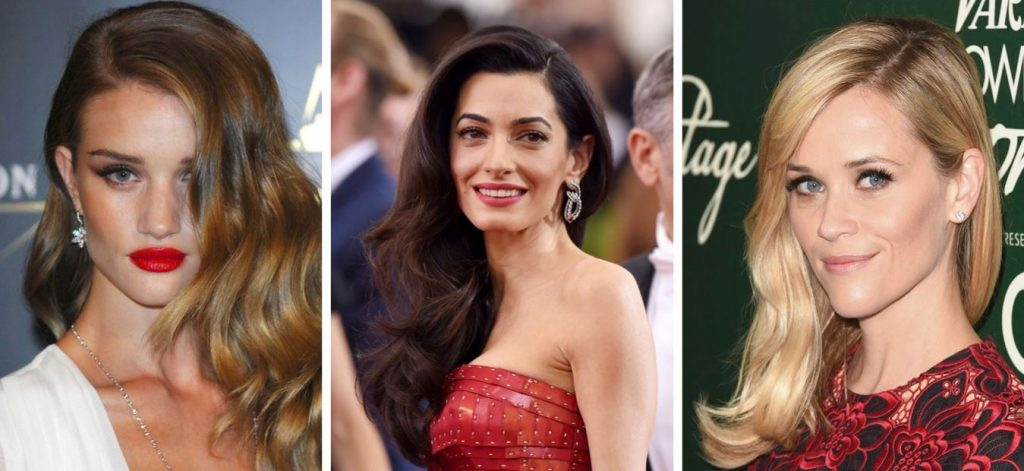 Hair counturing en celebrities