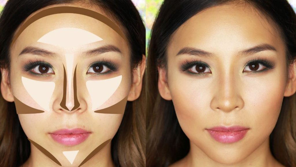 Rina Young  nos explica en su canal YouTube como realizar un make up contouring