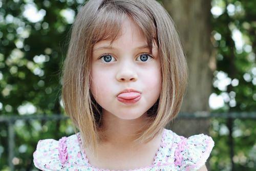 Cortes de cabello para nina con flequillo