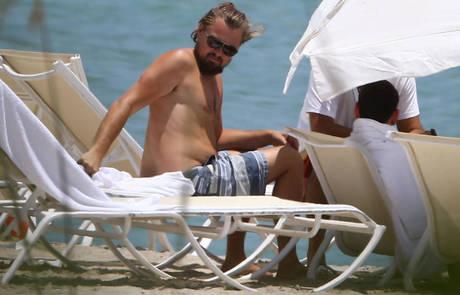 Esta foto de Leo di Caprio ha sido una de las más usadas dentro de esta campaña viral. !Leo te queremos con o sin barriguita!