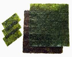 Alga nori en láminas (ideal para sushi y cocina)